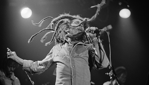 Bob Marley performing 1979