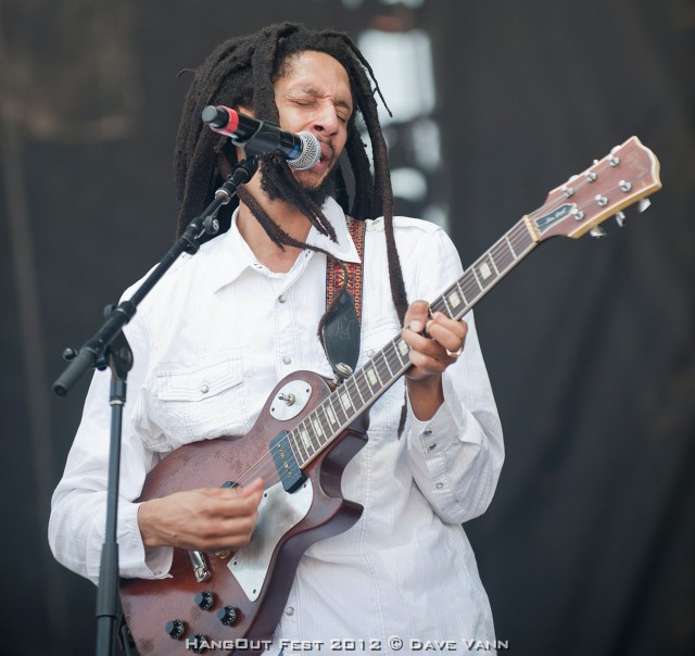 Julian Marley and the Uprising Band Live at the Hangout Music