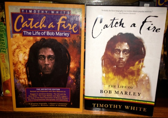 Two examples of the typical Catch a Fire's that you will see. The copy of the right is the U.S. 2006 edition with the new cover.