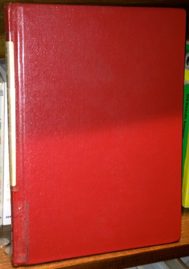 Interesting hardcover library binding edition I have.