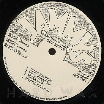 "Prince Jammy Dubs ""Natural Mystic"" (1977) 