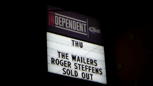 Roger Sold Out 7 feb 13 SF