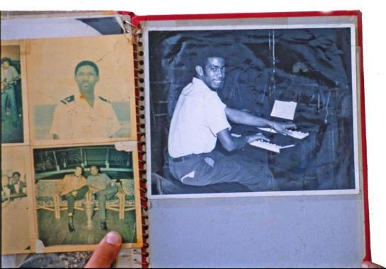 Jackie Mittoo in Lloyd Knibb's photo album