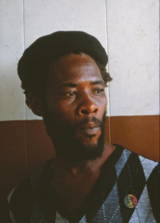 Reggae George after learning of Prince Far-I's murder