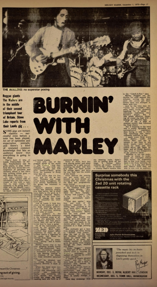 Melody Maker (Dec 1, 1973)