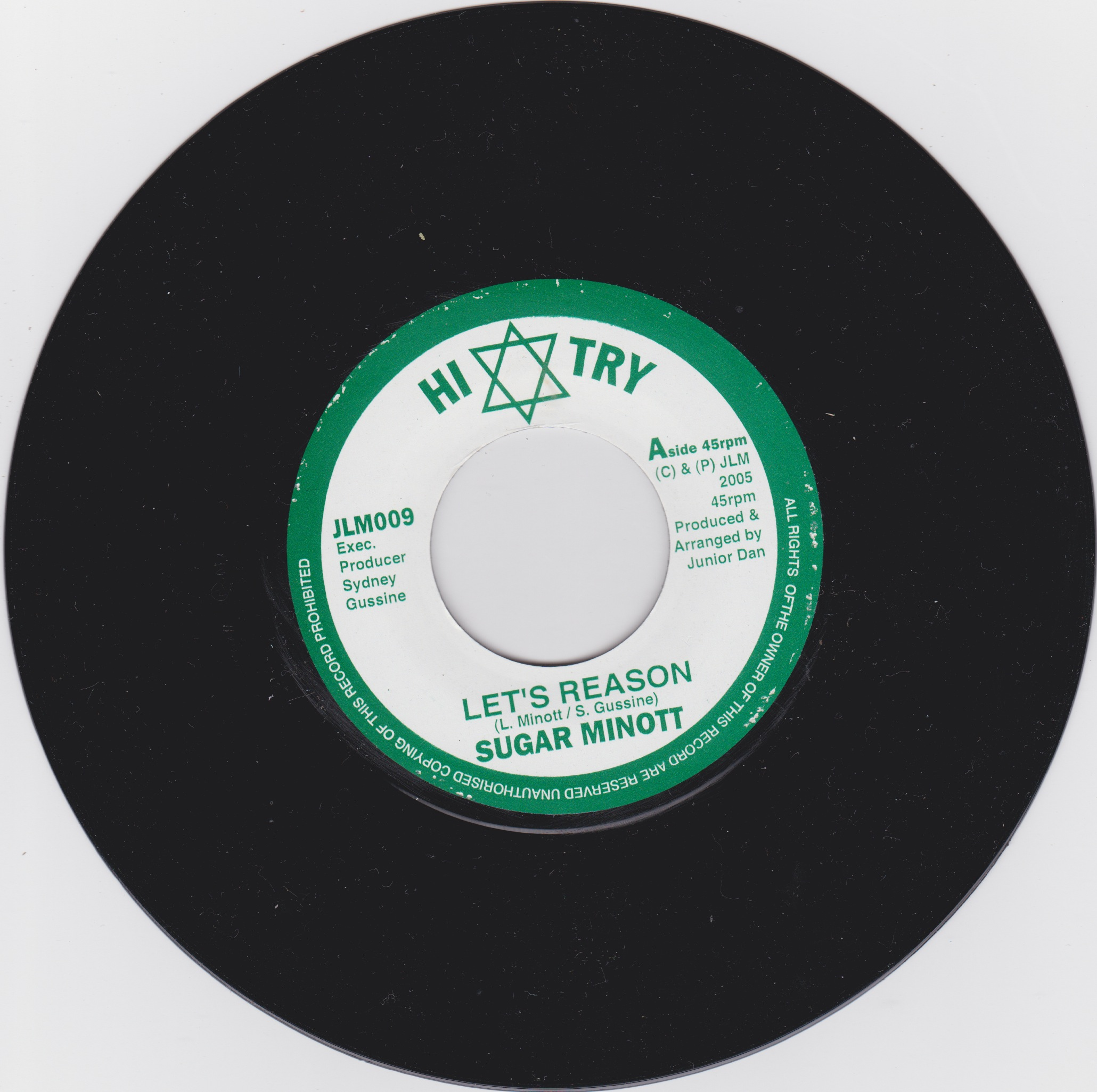 Sugar Minott / Junior Dan - Let's Reason