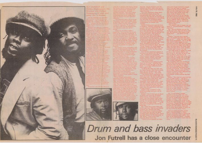 sly and robbie black echoes