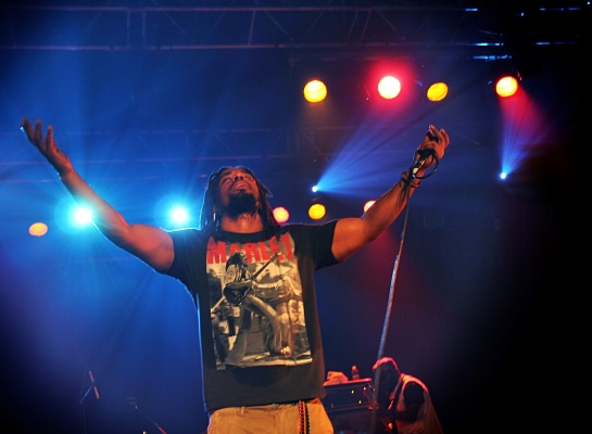 Wailers Band Live Marseille - Photo Fred Reggaelover P. 2013