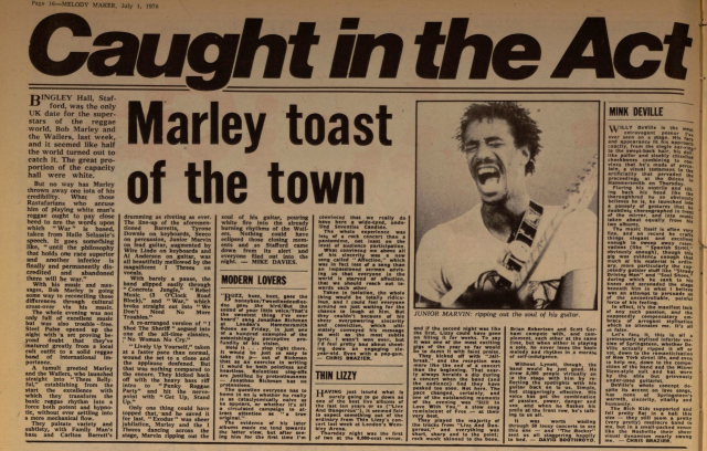 Davies, Mike. Melody Maker (Archive- 1926-2000)53.24 (Jul 1, 1978)- 16.bingleyhall