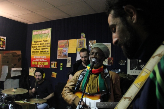 Bronco , Clotilde And Stargate Band, In Rehearsals - photo : Fred reGGaeLover P. 2013