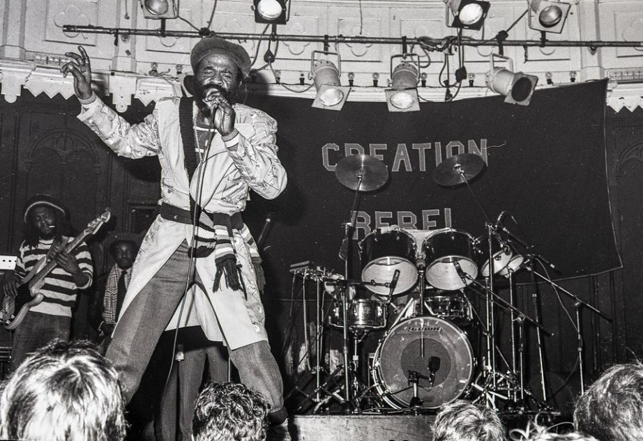 Prince Far-I and Creation Rebel Paradiso Amsterdam 1978