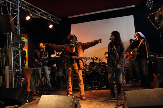 Bronco Knowledge & Stargate Band , Rehearsals In Montpellier - Photo  : Fred reGGaeLover 2013
