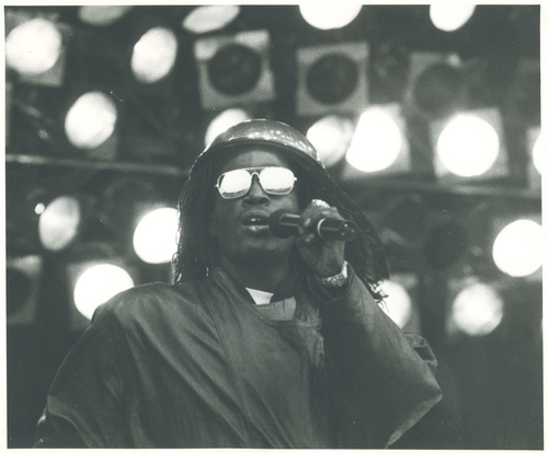 Junior Reid, Glastonbury, 1986