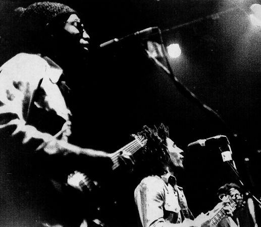 The Wailers, Matrix Club, October 1973