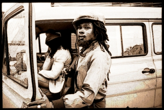 Sly and Robbie, Glastonbury, 1982