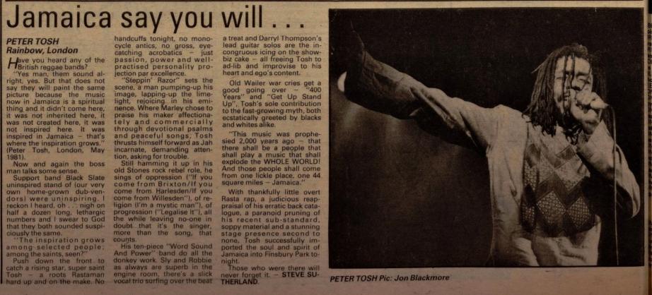 Barber, Lynden. Melody Maker (Archive- 1926-2000)56. 27 (Jul 4, 1981)tosh
