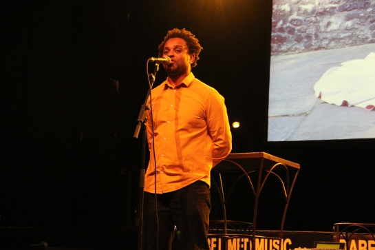 Ahamada Sims Live - Photo Fred reGGaeLover 2014