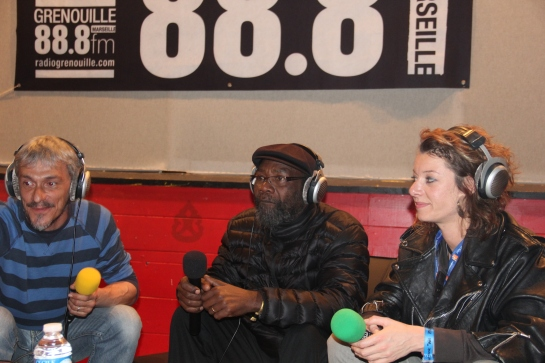 Clinton Fearon - Interview with Radio Grenouille - Photo Fred reGGaeLover 2014