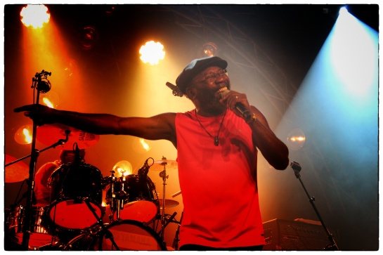 Clinton Fearon & Boogie Brown Band  , Live Babel Med Festival - Photo Fred reGGaeLover 2014