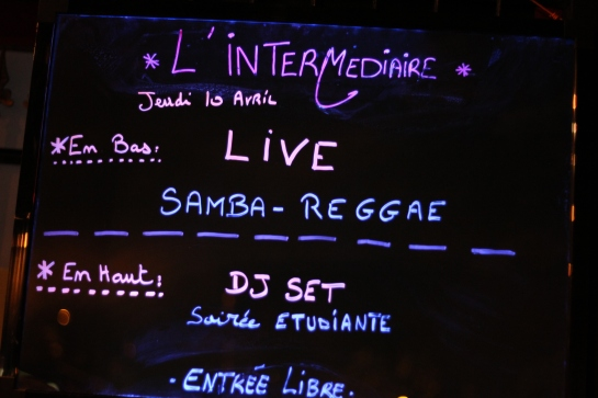 Samba Reggae , Live L'Intermediaire - Photo : Fred reGGaeLover 2014