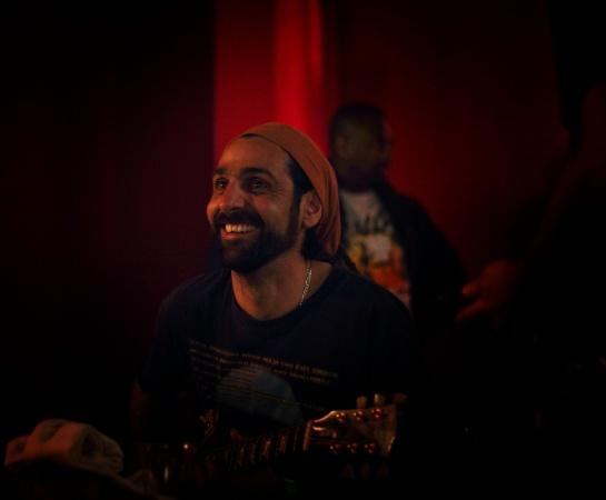 Fabien /  Stargate Backing Band , Live Cafe Julien , Marseille - Photo Fred reGGaeLover 2014