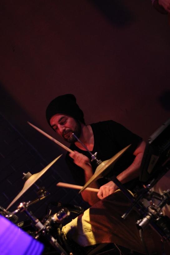 David /  Stargate Backing Band , Live Cafe Julien , Marseille - Photo Fred reGGaeLover 2014