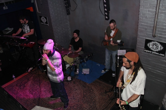 Faianatur & Stargate Backing Band , Live Cafe Julien , Marseille - Photo Fred reGGaeLover 2014