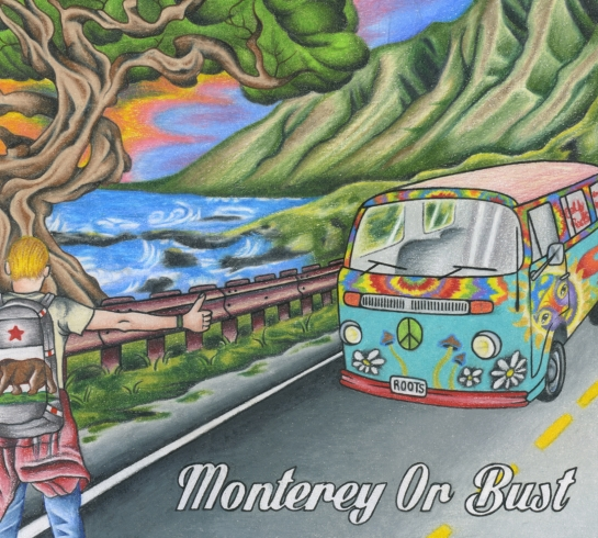 Various Artists - Monterey Or Bust - Artwork