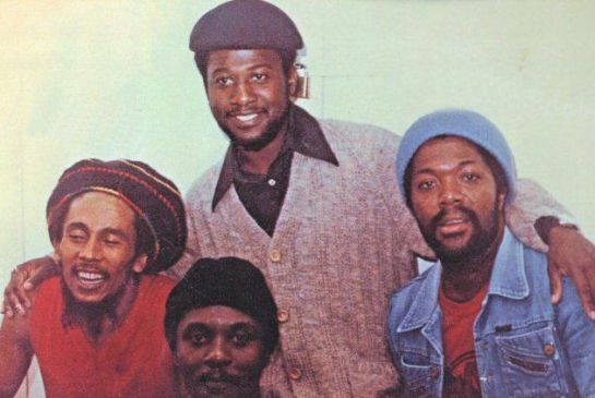 David Madden (r) w/ Bob Marley