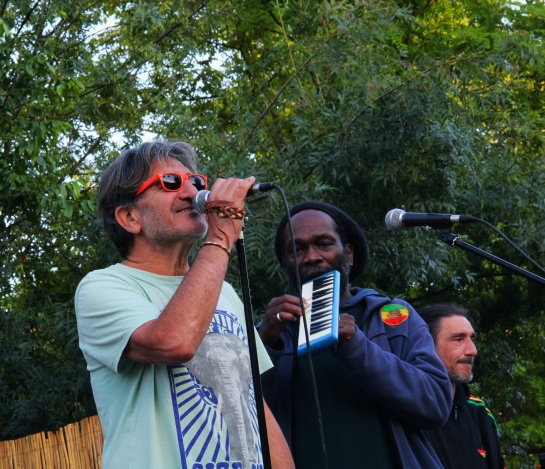 Jo Corbeau & Paul Morgan & Messengers , Soundcheck , Live Free Reggae Festival , Aubagne - Photo : Fred reGGaeLover 2014