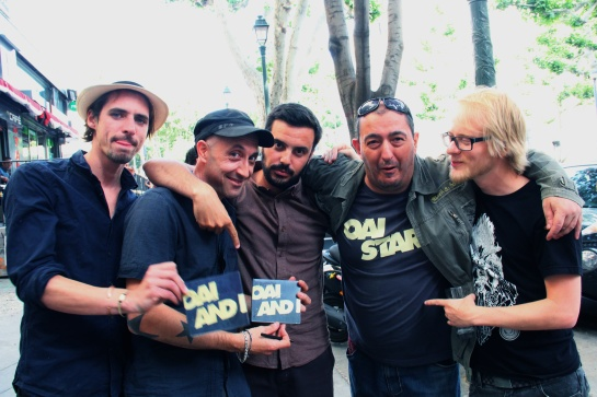Oai Star Band with Olive - Photo Fred reGGaeLover 2014