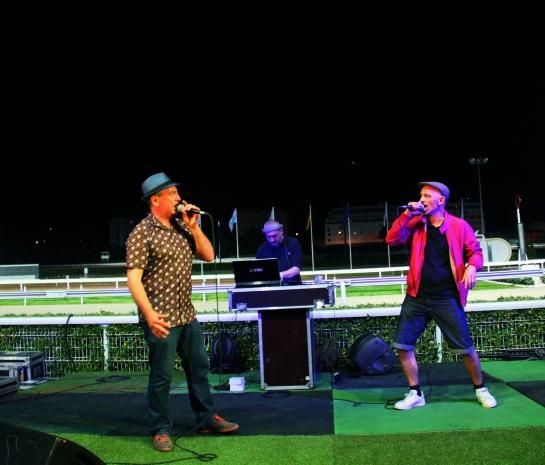 Papet Jali , Gari Grèu , DJ Kafra - Photo : Fred reGGaeLover 2014