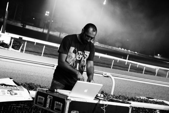 Les Djs Du Soleil (Papet Jali, Gari Grèu , DJ Kayalik ), Live Hippodrome Pont De Vivaux, Marseille - Photo Fred reGGaeLover 2014