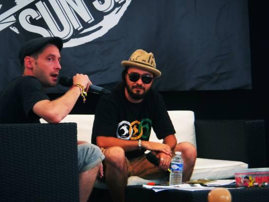 rod anton , press meeting reggae sun ska 2013