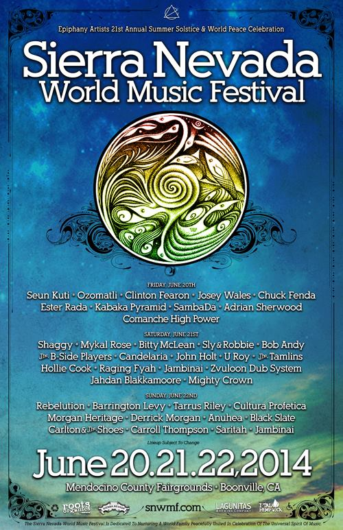 snwmf 2014-line up