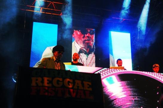 Chineseman & Johnny Osbourne , Live Garance 2014 - Photo : Fred reGGaeLover 2014