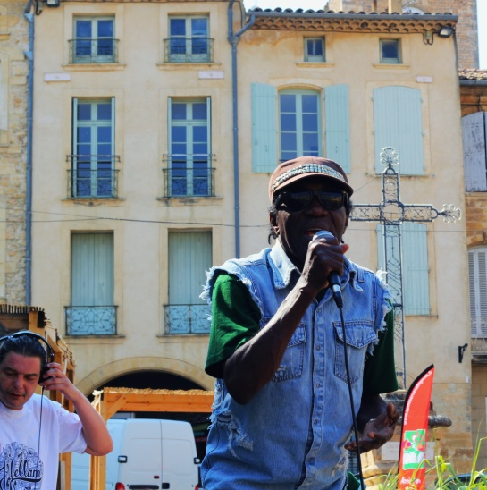 Trinity & Irie Ites , Live Festival Off Bagnols Sur Ceze, France - Photo : Fred reGGaeLover 2014