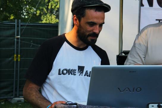 Roberto 'Lone Ark' Sanchez, Garance Reggae Festival 2014 - Photo Fred reGGaeLover 2014