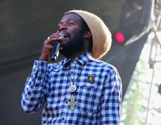 Iba Mahr & Dubtonic Kru  , live Garance Reggae Festival 2014 - Photo : Fred reGGaeLover 2014