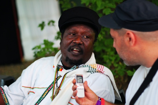 Mikey General, Interview at Garance Reggae Festival 2014 - Photo Fred reGGaeLover 2014