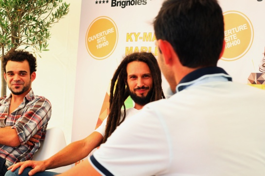 Jah Legacy ,Press Meeting, festival des Garrigues - Photo Fred reGGaeLover 2014