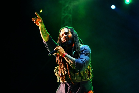 Kymani Marley , Live Festival Des Garrigues, France - Photo  : Fred reGGaeLover 2014