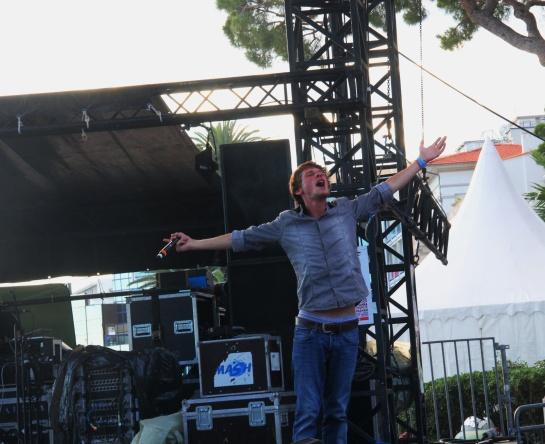 2014-07-09 Naaman & Deep Rockers Crew , Live Le Big Festival, Juan Les Pins - Photo : Fred reGGaeLover 2014