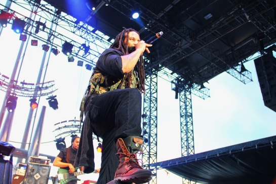 2014-07-09 Ky-Mani Marley & Revolution Band, Live Le Big Festival, Juan Les Pins - Photo : Fred reGGaeLover 2014