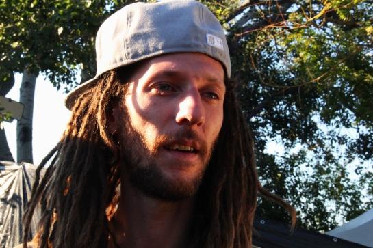 Romain / Deep Rockers Crew  , Live Zik Zac Festival - Photo Fred reGGaeLover 2014