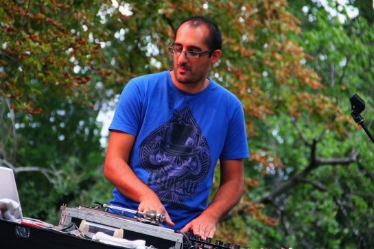 Dj Kayalik & Les Dj Du Soleil , Live Sun Festival 2014 - Photo Fred reGGaeLover 2014