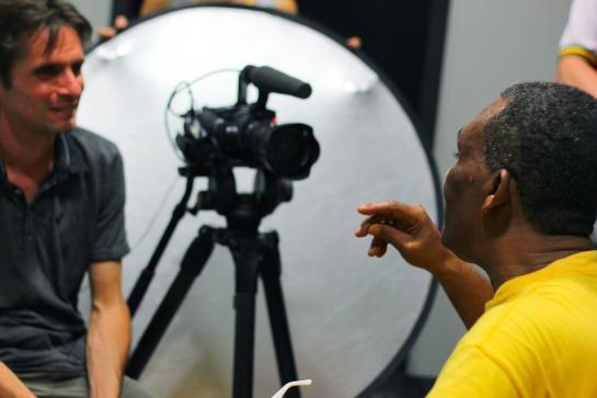 Ken Boothe Interview  , Sun Festival 2014 - Photo Fred reGGaeLover 2014