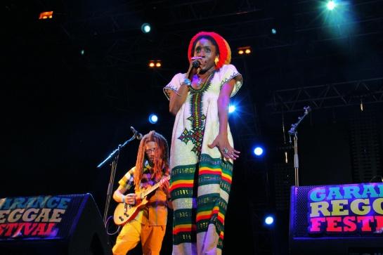 Jah9 & Dubtonic Kru, Live Garance 2014 - Photo : Fred reGGaeLover 2014