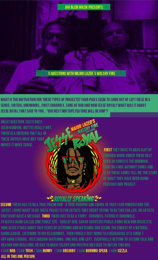 MajorLazer-WalshyFire-JesseRoyal-Interview-Jahblemmuzik-Page1