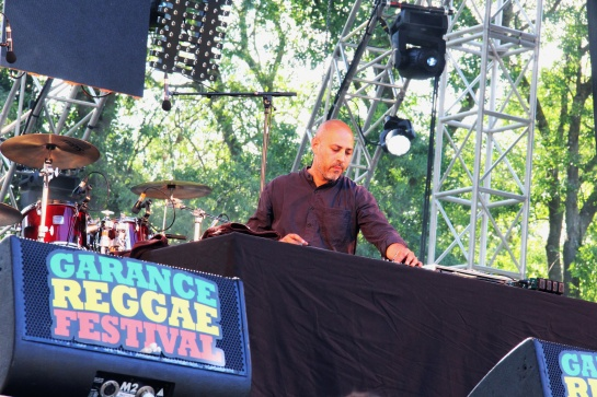 Tarzan  / Soul Stereo Sound System  - Warm Up Garance 2014 - Photo : Fred reGGaeLover 2014